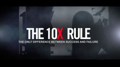 Today I started listening to Grand Cardone via the audio book version of his best seller - The 10X Rule. Grant Cardone, is a no nonsense sales guru, that isn't averse to giving people a real kick in the butt while he trains. He also speaks very plainly and makes things entirely understandable.