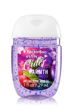 Bath & Body Works Plum Cider Warmth PocketBac Sanitizing Hand Gel | Warm up with Mirabelle plum, apple cider & golden rum