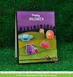 monster mash | Lawn Fawn