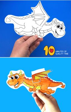 Flying Dragon Craft Easy Arts And Crafts, Crafts To Do, Dragon Birthday, Dragon Crafts, Fun Activities For Kids, Quality Time, Kids House, Remote, Printable