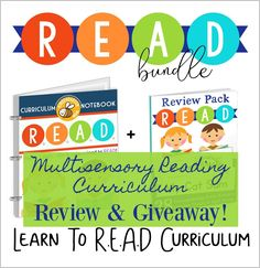 Learn to R.E.A.D. with Multisensory Lessons and Activities