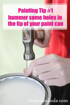 Painting a room can be such a chore! Here are 8 Painting Tips and Tricks that will blow your mind and make painting a room actually fun!