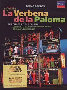 Tom¨¢s Bret¨®n: La Verbena de La Paloma by Decca Verbena, Tom S, First Time, Movie Tv, Film, Funny, Amazon, Orchestra, Greek Chorus