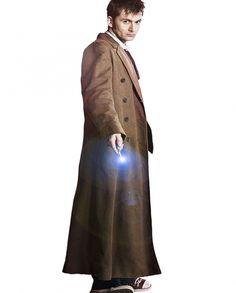 10th Doctor David Tennant Stylish Coat