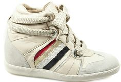 First step on my way to learning how to moon walk: High tops...Sneakers Serafini