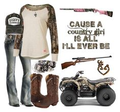 """""""A country girl is all I'll ever be!"""" by horsy45 ❤ liked on Polyvore featuring Miss Me, Realtree, Tony Lama, RIFLE, Jewel Exclusive and country"""