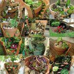 Σπασμένες γλάστρες στον κήπο. 60 DIY ιδέες με λουλούδια φυτά κλπ περισσότερα στο : http://www.helppost.gr/how-to/khpos-veranta/spasmenes-glastres-idees/