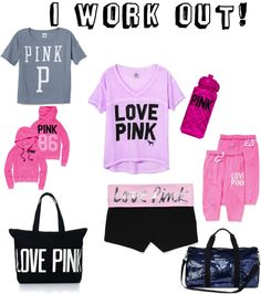 """""""work out clothes (:"""" by hlr1998 ❤ liked on Polyvore"""