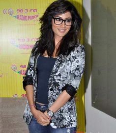 #Chitrangada Singh in #Geeky Glasses