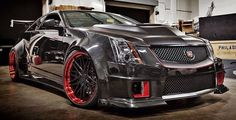 2012 Cadillac CTS-V Coupe in a D3 Tuning Widebody Kit #Cadillac #CTS Wheels Rims…