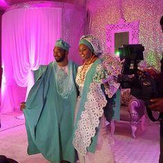 "1,364 Likes, 9 Comments - Sugar Weddings & Parties (@sugarweddings) on Instagram: ""We love their matching outfits!pic via @lizawoliyi #bride #groom #tradlook #traditionalwedding…"""