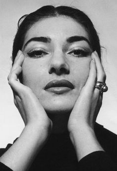 Maria Callas as photographed by Cecil Beaton in 1957