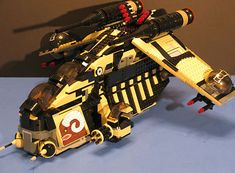 Lego® Brick Star Wars Custom Tatooine Desert Clone Wars Republic Gunship Figs | eBay