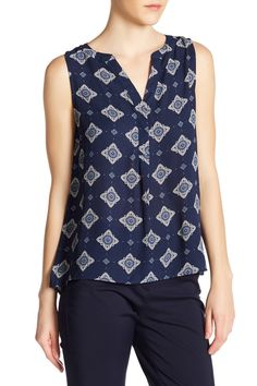 Image of Philosophy Apparel Hi-Lo Sleeveless Blouse Dressmaking, Sleeveless Blouse, Nordstrom Rack, Philosophy, Tees, My Style, How To Wear, Blouses, Goals