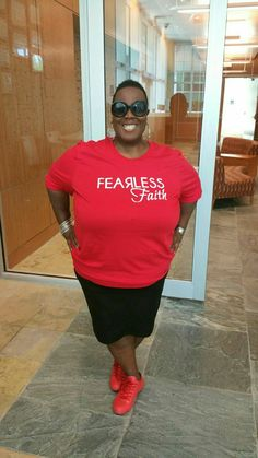 FEARLESS FAITH MOVEMENT T-shirts. What are you afraid of? GO CONQUER IT!!!