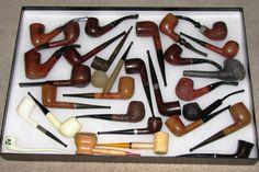 Vintage Smoking Pipes.