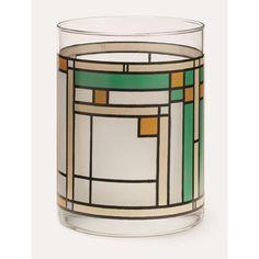 MoMA Oak Park Water/Juice Glass Color: Green