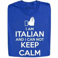 Stabilitees I Am Italian and I Can Not Keep Calm Funny T Shirts $ 15.99