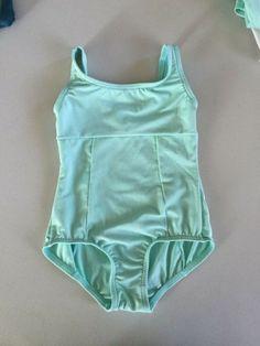 BodyWrappers Princess Aurora #VL2005 Yellow Short Sleeve Leotard Toddler Size3-4