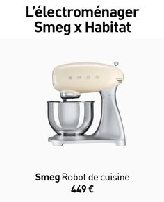 Robot électroménager SMEG