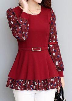 Shop Womens Fashion Tops, Blouses, T Shirts, Knitwear Online Simple Kurti Designs, Stylish Dress Designs, Stylish Dresses, Casual Dresses For Women, Blouse Designs, Casual Outfits, Indian Fashion Dresses, Indian Designer Outfits, Girls Fashion Clothes