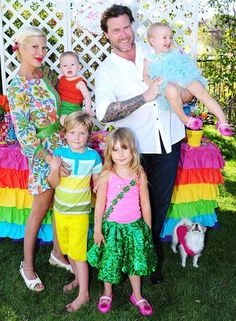 """Tori Spelling and Dean McDermott chronicled their family's day-to-day happenings on the Oxygen reality series, Tori & Dean, detailing the exploits of the couple and their children Liam (born in 2007) and Stella (born in 2008) since 2007. Five months after giving birth to daughter Hattie in 2011, Spelling became pregnant with son Finn. """"It has put us over the edge. They're 10 months apart, Hattie and Finn,"""" she explained of her two youngest children."""