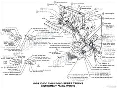 1965-1966 Ford F-100 Truck Dimensions & Curb Weights