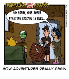 Wizards without Coats: Package