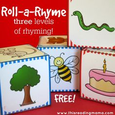 Roll a Rhyme - Rhyming Pack