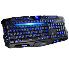 Style: Standard,Ergonomics,Waterproof,Gaming Type: Wired Full Size keyboard: Yes Wrist Support: No Package: Yes Interface Type: USB Application: Desktop,Laptop Color: red,blue and purple backlights fe