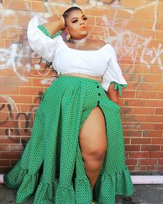 Most Fashionable Traditional Shweshwe Designs For African Women
