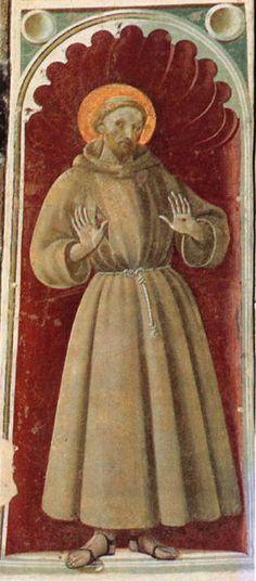 'r.francis', fresques de Paolo Uccello (1397-1475, Italy)