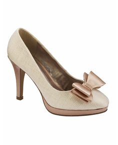 Simply Be Bow Trim Court Shoes, E Fit at Simply Be