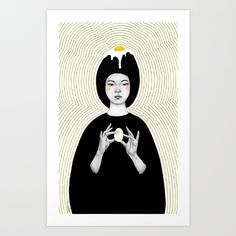 Ora Art Print by Sofia Bonati. Worldwide shipping available at Society6.com. Just one of millions of high quality products available.