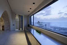 Big window // The Cool Hunter - 300+ Year-Old House Renovation in Tel Aviv, Israel