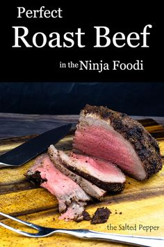 PERFECT Roast Beef is less than 60 minutes away! PERFECT Roast Beef is less than 60 minutes away! Don't worry if you like your roast a little more done, I include cooking suggestions for various meat temps in the written recipe. Sliced Roast Beef, Sirloin Tip Roast, Grilled Roast, Rib Roast, Roast Recipes, Grilling Recipes, Dinner Recipes, Perfect Roast Beef, Easy Pot Roast