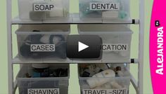 [VIDEO]: Bathroom Cabinet Organization Tips