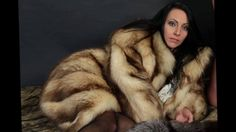 Woman In Red Fox Fur Part 6