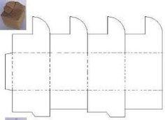 como fazer vasos de papel no formato hexagonal - Pesquisa Google