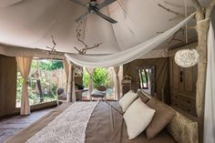 Glamping in Bali (Condé Nast Traveller). I wouldn't mind some of these ideas form my home!