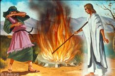 Then the Angel of the LORD put out the end of the staff that was in His hand, and touched the meat and the unleavened bread (which Gideon had prepared Teaching Schools, Teaching Ideas, Bible Illustrations, Christian Pictures, Bible Pictures, His Hands, Sunday School, The Rock, Avatar