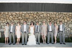 Fabulous colors and a gorgeous wedding party | Marianne Wilson Photography
