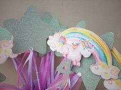 Unicorn & rainbow hand made