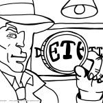 Printable Spy Detective Coloring Page 2 Coolest Free