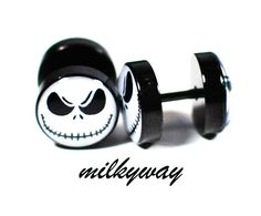 jack skellington fake plugs - Google Search