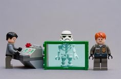 Airport security lego