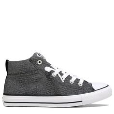 d75574e3914802 Converse Men s Chuck Taylor All Star Street Mid Top Knit Sneakers (Wolf  Grey Almost