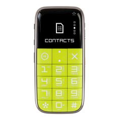 CP10S Cellular Phone Lime