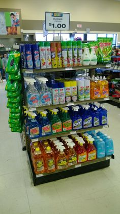 Get a head start on spring cleaning! Cleaning supplies available for just $1 at our Goodwill stores.