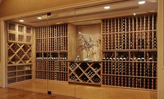 Glass Enclosed Wine Cellars by Wine Cellar Innovations